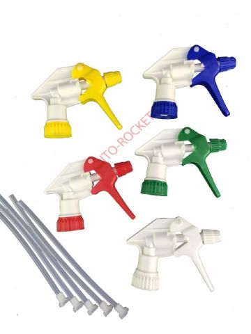 Triggers - Amazon Heavy Duty Shipper trigger heads - mixed colours - x 5